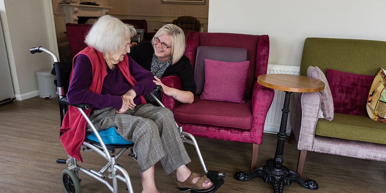 Residential Care at westlands care home