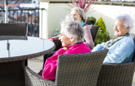 Westlands-care-home-devon-3-residents-on-balcony v3
