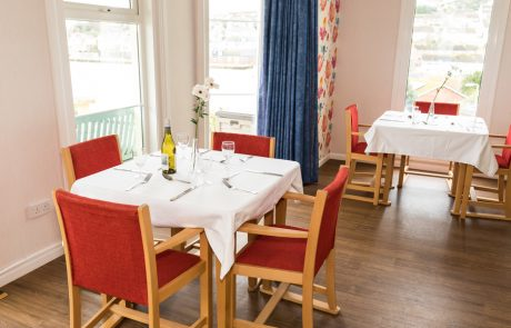 Westlands-care-home-devon-dining-room