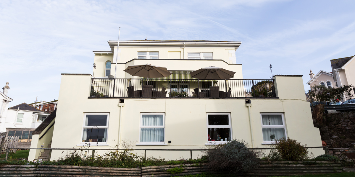 Westlands-care-home-devon-rear-aspect