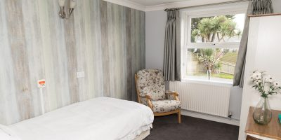 Westlands-care-home-Devon-interior-bedroom-painted-grey