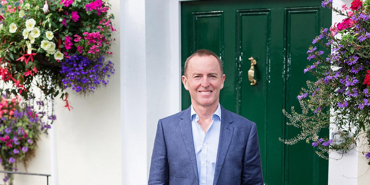 Nigel outside westlands